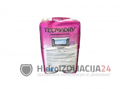 TECMADRY GREY hidroizoliacinis mišinys,1vnt. (25 kg)