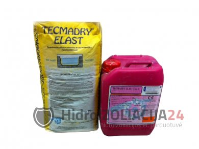 TECMADRY ELAST BLUE elastinga hidroizoliacija, 1vnt.(30kg=1bak.+1m.)