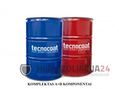 TECNOCOAT P-2049, grynoji poliurėja,komponentai A 1 vnt. (225 kg)
