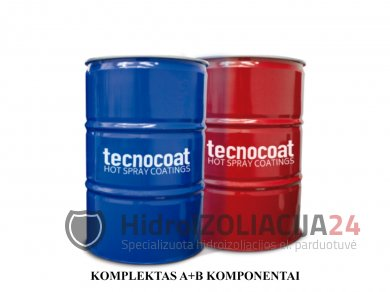 TECNOCOAT P-2049, grynoji poliurėja,komponentai B, 1 vnt. (225 kg)