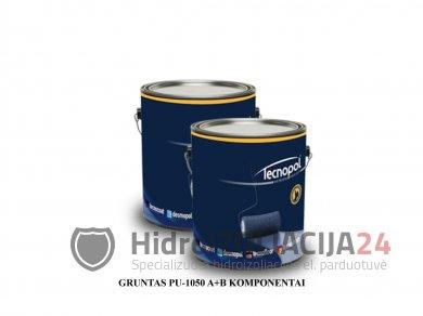 GRUNTAS PU-1050, komponentai A 1vnt. (5 kg)