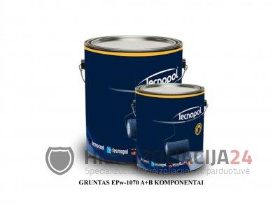 GRUNTAS EPw-1070 (A+B), epoksidinis, 4kg