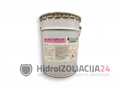 TECMA PAINT I-T, skaidri elastinga hidroizoliacija, 1vnt. (5kg)