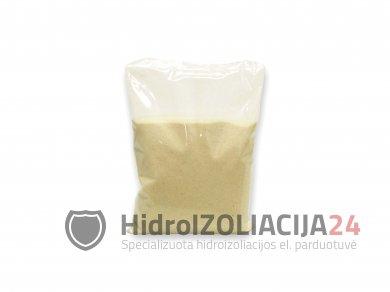 SILICA SAND, kvarcinis smėlis paviršių šiurkštinimui, 1 kg.