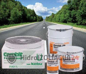 Asfaltbetonio siūlių sandarinimo juosta CORABIT FB 40x10 mm, 1 vnt. (10m)