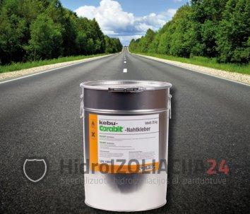 Šalto liejimo asfaltbetonio siūlių sand. mastika, 1 kib. (25 kg)