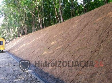 Kokoso pluošto priešerozinis paklotas, 1 rul. (100 m2)