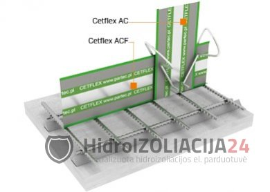 CETFLEX ACF 165, 1vnt. (2.25x0.165m)