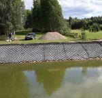 Geokorys šlaitų sutvirtinimui, 75mm, 1 segmentas (23.13 m2)