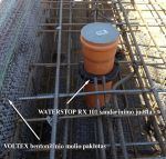 WATERSTOP RX 103, 15x10mm, 1 vnt.  (6m)